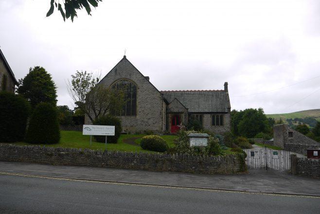 Castleton Wesleyan, now Methodist Church   Philip Thornborow, 2021