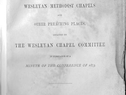 Wesleyan chapels