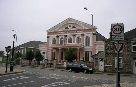 Wesleyan Chapel, Camborne, Cornwall