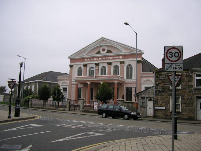 Wesleyan Chapel, Camborne 05.10.05 | G W Oxley