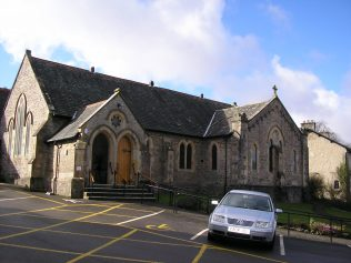Arnside WM Chapel, east dide, 2.3.2017 | G W Oxley