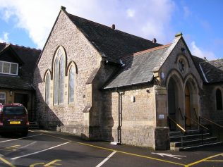 Arnside WM Chapel, south end, 2.3.2017 | G W Oxley