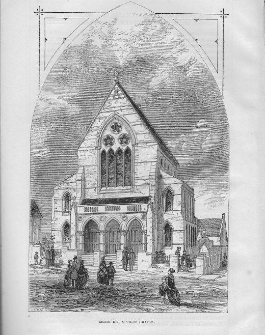 Ashby-de-la-Zouche Wesleyan chapel | Wesleyan Chapel Committee, 1869