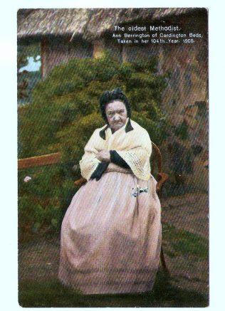 Methodist Centenarian: Ann Berrington
