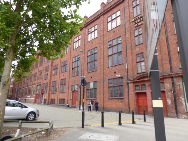 Birmingham Central Hall, Wesleyan  Chapel, Dalton Street facade,18.7.2018 | G W Oxley