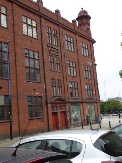 Birmingham Central Hall, Wesleyan  Chapel, Dalton Street facade, northerrn end, 18.7.2018   G W Oxley
