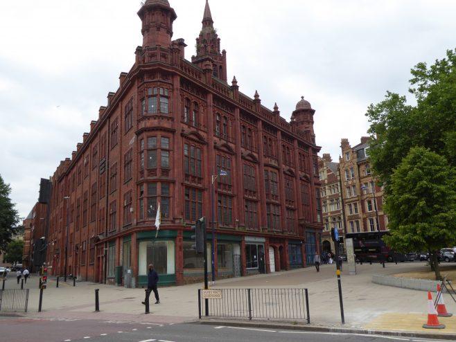 Birmingham Central Hall, Wesleyan  Chapel, Ryder Street facade, 18.7.2018 | G W Oxley