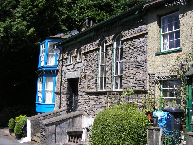 Bowness on Windermere, Bank Road, WM Chapel from the southeast, 8.7.2017 | G W Oxley