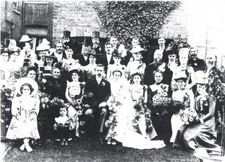Marriage of Maud Richardson to George Clarke | click to enlarge