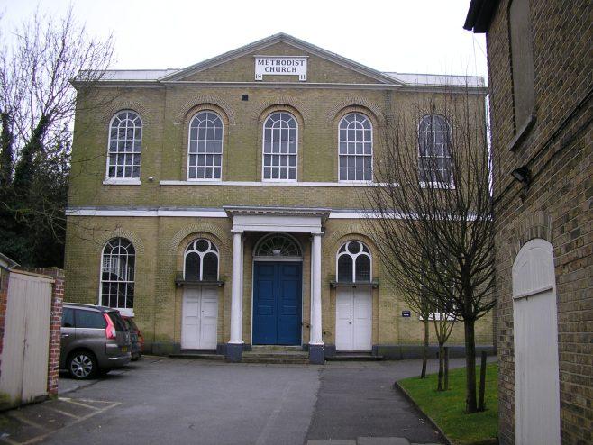 Canturbury Methodist Church, March 2015   G W Oxley