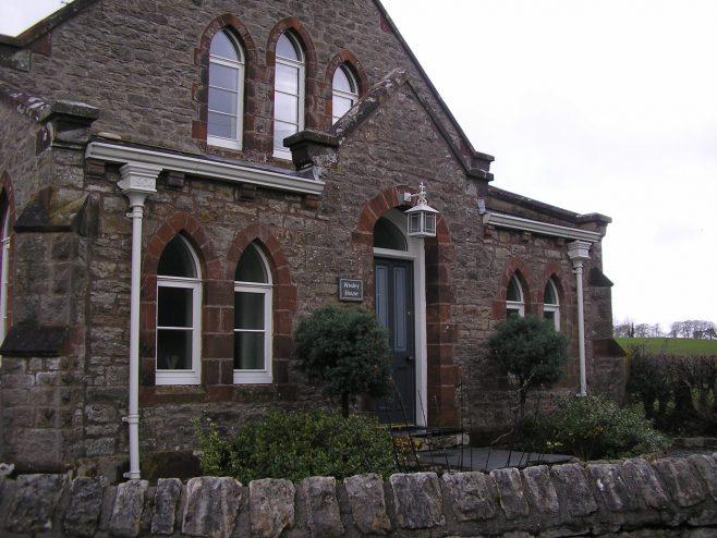 Cark WM Chapel, entrance, 2.3.2017   G W Oxley