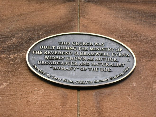 Carlisle,Central Hall, Fisher Street plaque (i), 29.3.2016 | G W Oxley