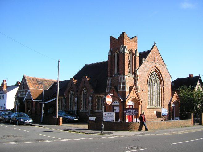 Caversham Wesleyan Chapel, general view | G W Oxley