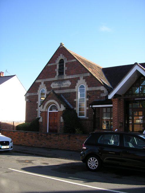Caversham Wesleyan Chapel, school | G W Oxley