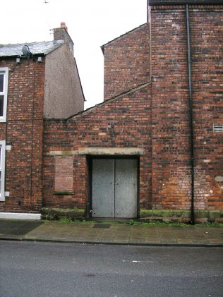 Church St-Caldewgate WM Chapel, hall entrance, Dec 2014 | GW Oxley