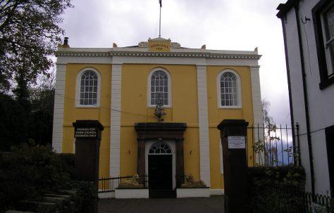 Cockermouth, Market Place (Church Went) WM Chapel, Cumbria