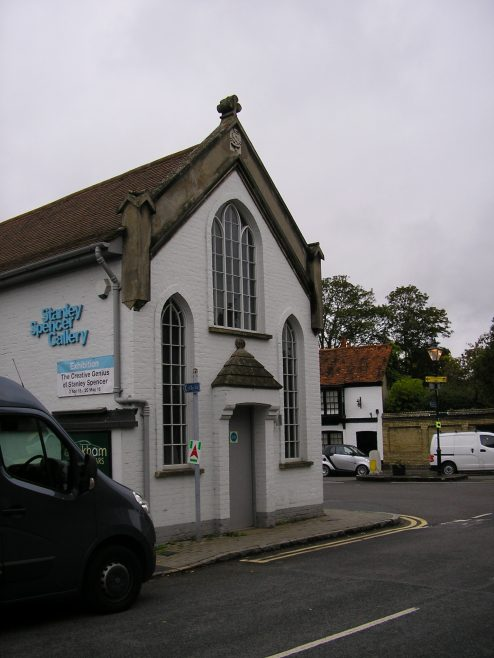 Cookham Methodist Chapel, front elevation, 7.10.2015 | G W Oxley