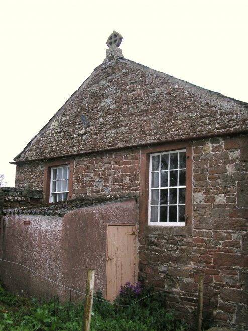 Culgaith WM Chapel, gable end with finial, 25.4.2015 | GW Oxley
