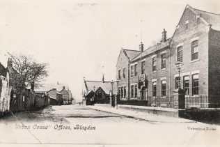 Shibdon Rd, Blaydon (Council Offices right, chapel far right ) | Winlaton History Society