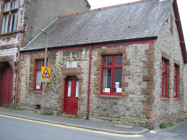 Dalton in Furness, Wellington Street WM Chapel,Sunday school front, 3.7.2016 | G W Oxley