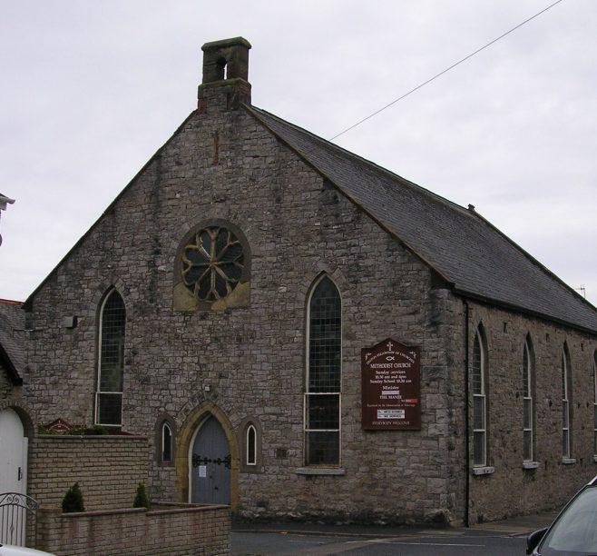 Dalton in Furness, Wellington Street WM Chapel, front, 3.7.2016 | G W Oxley