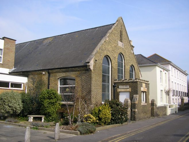 Deal Methodist Church, Wesley Hall (i) March  2015 | G W Oxley