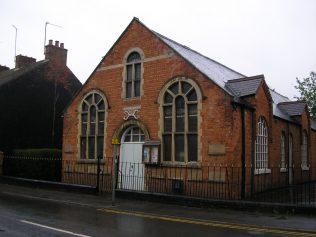 Desborough, Victoria Street Wesleyan Chapel,  south side of Sunday schooll, ,  28.4.2018 | G W Oxley