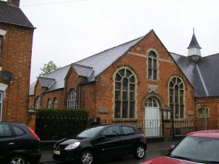 Desborough, Victoria Street Wesleyan Chapel,  south and east sides of Sunday school,  28.4.2018 | G W Oxley