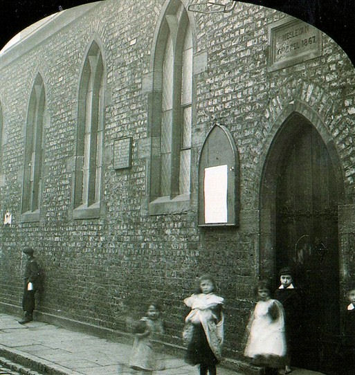 East Street, Gateshead, Wesleyan Chapel opned 1865 | Bede Circuit Archive Collections