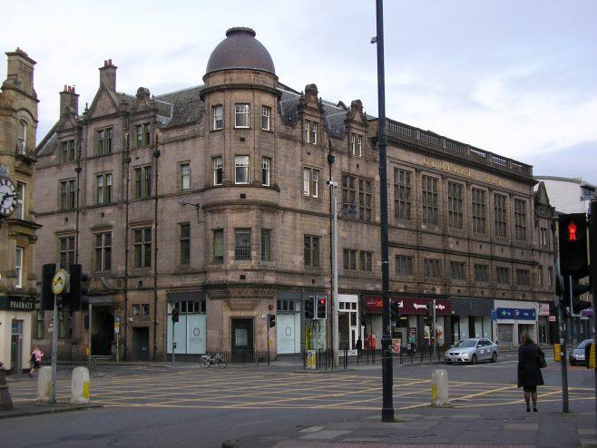 Edinburgh, Methodist Central Hall, Earl Grey Street  (i), 22 May 2017 | G W Oxley