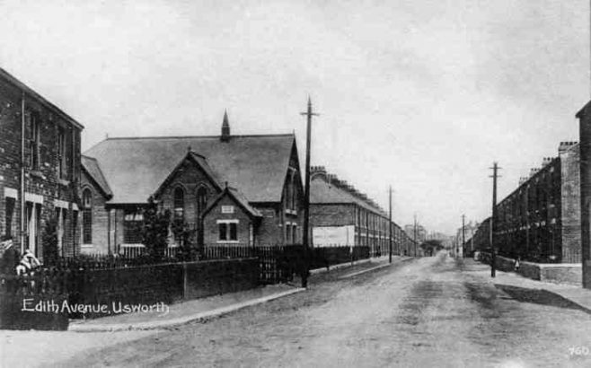 Edith Avenue, Usworth, Wesleyan Chapel c1900 | Bede Circuit Archive Collections