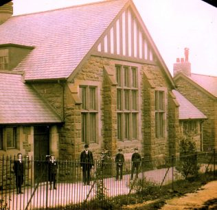 Holly Hill Wesleyan Sunday School Halls, opened 1898 [photo 1899]   Bede Circuit Archive Collections