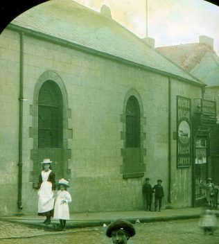 The Felling High Street Wesleyan Chapel & Sunday School, sold to Walter Willson Ltd. in 1898 [photo 1899]   Bede Circuit Archive Collections