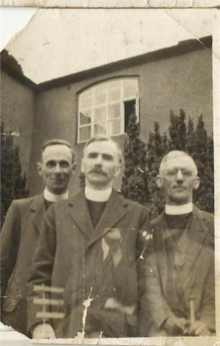 R Einion Jones 1912 -1947 on left and ? and ?