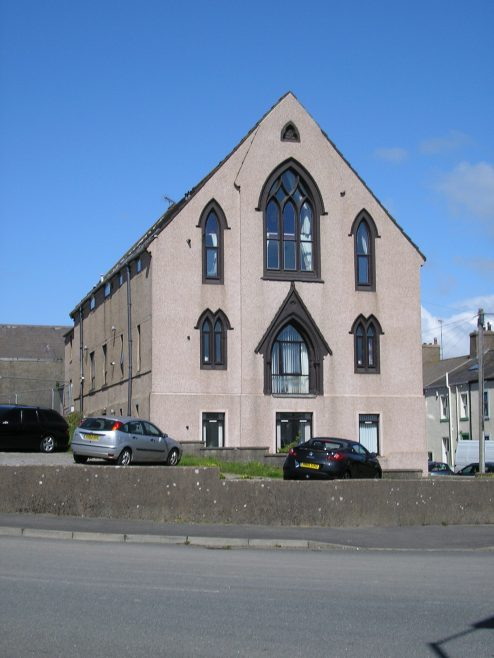 Harrington, Victoria Square WM Chapel, front elevation, 13.5.2015   G W Oxley
