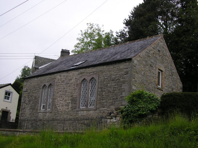 Helton Wesleyan Chapel from northeast, 13.6.2015 | G W Oxley