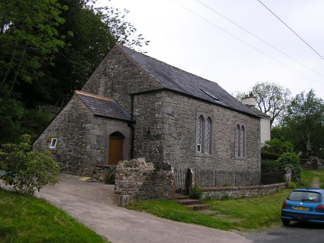 Helton Wesleyan Chapel from southeast, 13.6.2015 | G W Oxley
