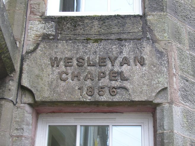 Hensingham, West View WM chapel, date plaque,  6.10.2017 | G W Oxley