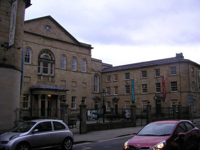 Huddersfield, Queen Street  WM Chapel, from the north west, 26  Feb. 2017 | G W Oxley