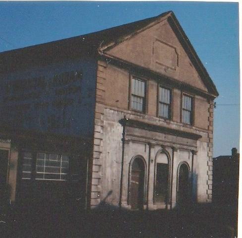 Hull, Scott Street WM Chapel, facade, c.1970 | G W Oxley