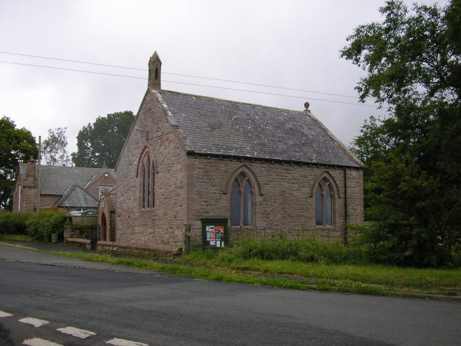 Hutton End WM Chapel from the north 12.07.2015   G W Oxley