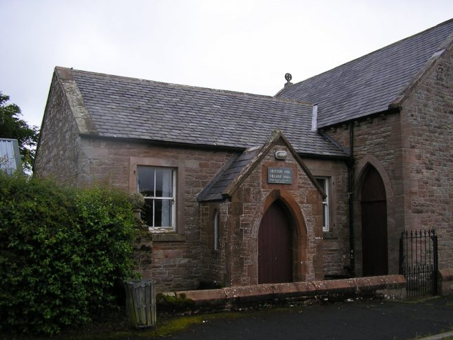 Hutton End WM Chapel fron the south east, detail of entrances, 12.07.2015   G W Oxley