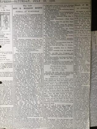Buckinham Express July 10 1909 | C Jones