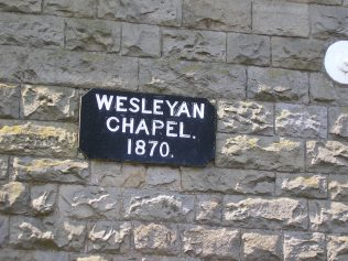 Ireby WM Chapel, date plaque, 5.6.20165 | G W Oxley