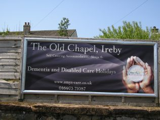 Ireby WM Chapel,notice board, 5.6.20165 | G W Oxley