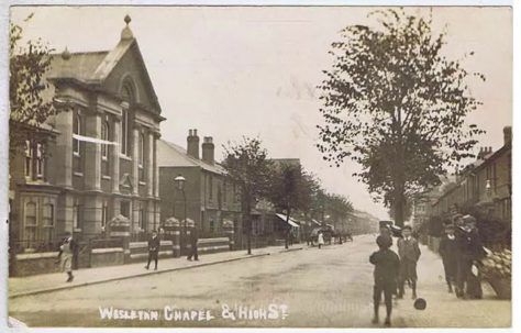 Unknown Wesleyan Chapel