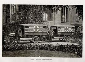 Queenswood Ambulances in Salonika