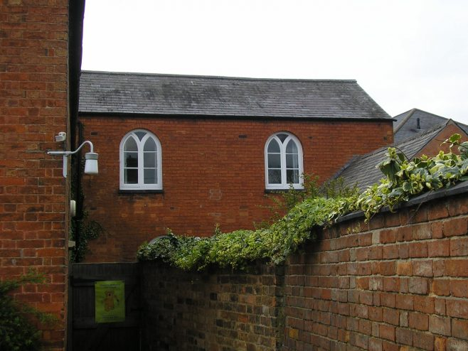 Kibworth WM Chapel, east side of extension building, 4.5.2018 | G W Oxley