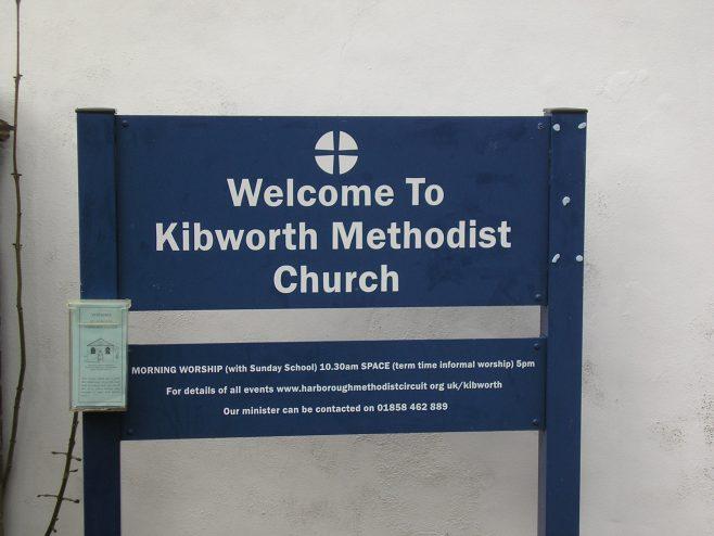 Kibworth WM Chapel, notice board, 4.5.2018 | G W Oxley