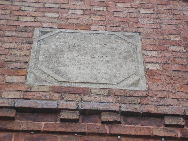 Kibworth WM Chapel, plaque, 4.5.2018 | G W Oxley